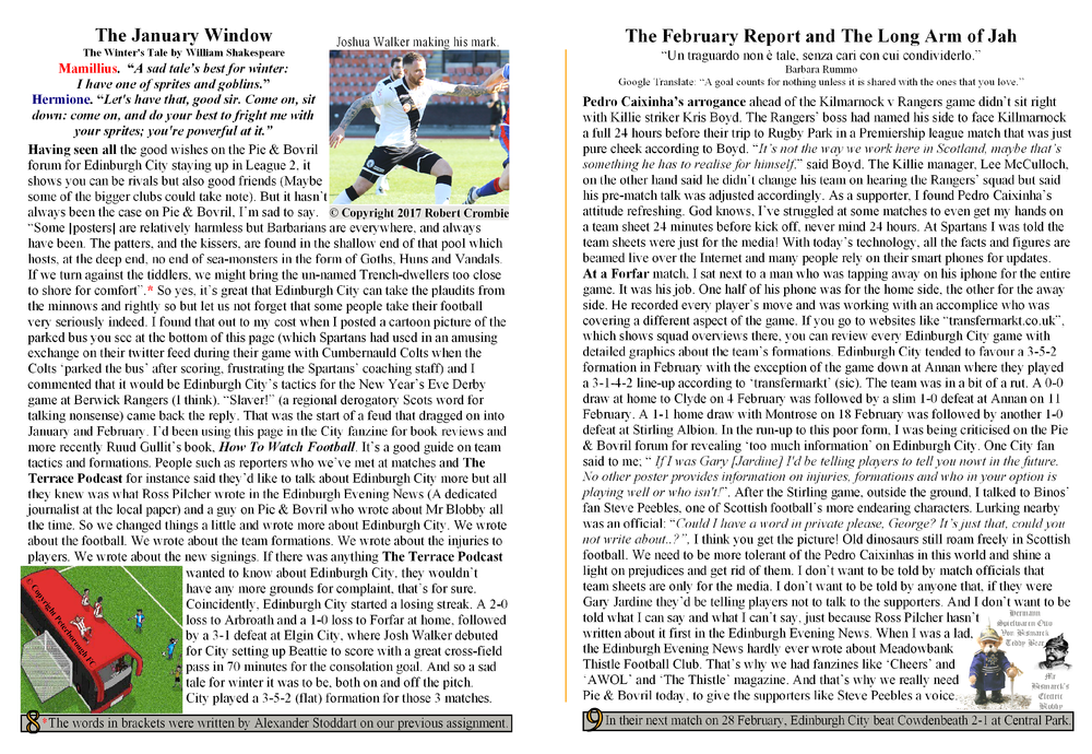 Edinburgh City Fanzine Final Issue Pages 8 and 9.png