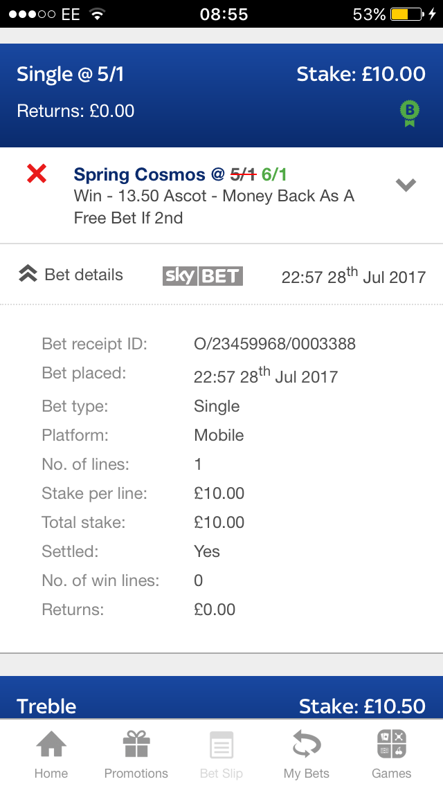 Sky Bet Horses Offer - The Gambling Forum - The Pie Shop