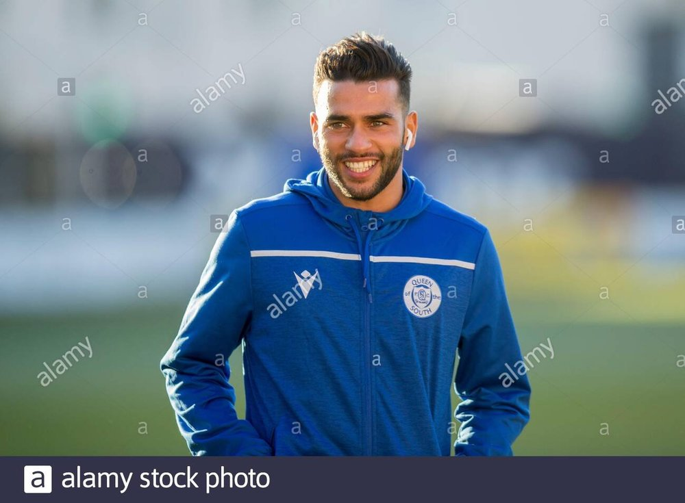 -nov-2019-scottish-championship-football-dundee-football-club-versus-queen-of-the-south-faissal-el-bakhtaoui-of-queen-of-the-south-inspects-the-pitch-before-the-match-editorial-use-credit-action-plus-sportsalamy-live-news-2AC2XJA.jpeg